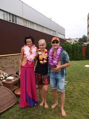 гавайская вечеринка, гавайский леи, пальмы на прокат киев