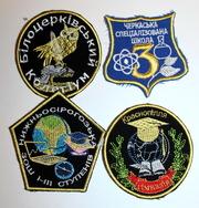 Школьные эмблемы для учебных  заведений