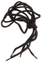 R5-880041,  Шнурки черно-красный,  120 см,  черный-красный
